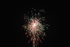 Шарм фейерверков стоковое изображение rf