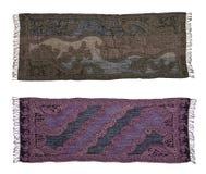 2 шарфа покрашенных темнотой Стоковые Фотографии RF
