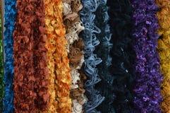 Шарфы цвета стоковое изображение