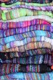 шарфы silk стоковые изображения rf