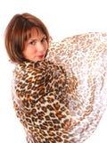 шарф танцы Стоковые Изображения