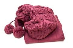 шарф шлема Стоковое Фото