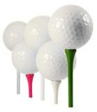 Шары для игры в гольф стоковая фотография