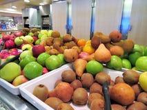 Шары различных типов свежих фруктов Стоковые Изображения RF