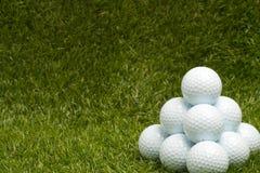 Шары для игры в гольф Стоковые Фото