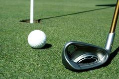 Шар для игры в гольф 8 стоковое изображение