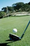 Шар для игры в гольф 3 стоковые изображения