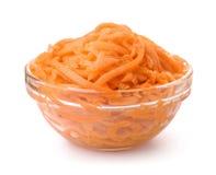 Шар замаринованной заскрежетанной моркови Стоковые Изображения