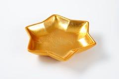 Шар звезды золота Стоковое Изображение