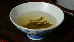 Шар испаряться чай фарфор, Япония, вода, испаряясь акции видеоматериалы