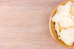 Шар и catchup картофельной стружки Haft Стоковое Изображение