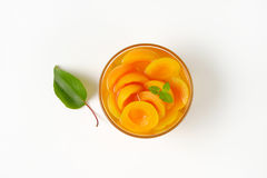 Шар компота абрикоса Стоковая Фотография RF