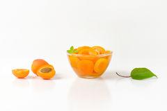 Шар компота абрикоса Стоковые Фото