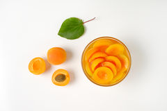 Шар компота абрикоса Стоковые Изображения RF