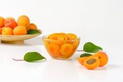 Шар компота абрикоса Стоковые Изображения