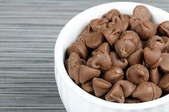 шар откалывает шоколад Стоковая Фотография