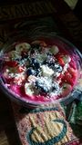 Шар плодоовощ сока Jamba Стоковое Изображение RF