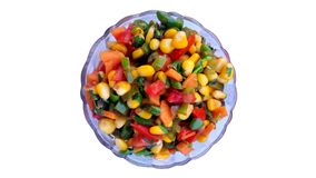 Шар славно сваренных свежих Corns со свежим овощем стоковые фотографии rf