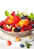 Шар смешанных ягод стоковые фото