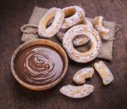 Шар сливк шоколада Стоковая Фотография