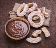 Шар сливк шоколада Стоковые Изображения