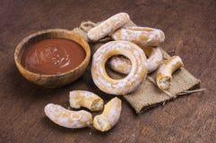 Шар сливк шоколада Стоковое фото RF