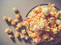 Шар с предпосылкой попкорна Стоковое Фото