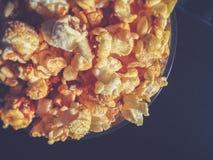 Шар с предпосылкой попкорна Стоковое Изображение RF