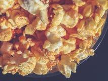 Шар с предпосылкой попкорна Стоковая Фотография RF