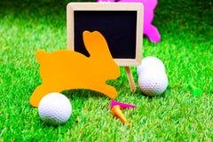 Шар для игры в гольф на празднике пасхи Стоковые Фотографии RF