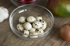 шар eggs стеклянные триперстки Стоковое фото RF