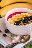 Шар smoothie завтрака Стоковое Изображение