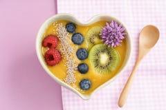 Шар smoothie персика Стоковое Фото