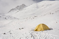 Шатер в горах Стоковая Фотография RF