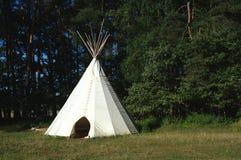шатер индейца детей Стоковые Изображения