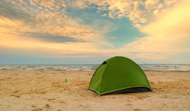 шатер Испании острова fuerteventura пляжа канереечный Стоковые Фотографии RF
