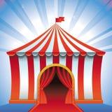 Шатер цирка вектора - яркий значок иллюстрация вектора