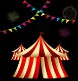 шатер цирка Стоковая Фотография