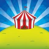 Шатер цирка бесплатная иллюстрация