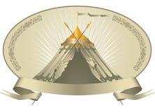 шатер шатёр Стоковые Изображения RF