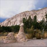 Шатер Kasha-Katuwe трясет национальный монумент - NM Стоковые Изображения