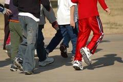 шатия мальчиков Стоковая Фотография RF