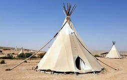 Шатры индейца Tipi Стоковые Фотографии RF