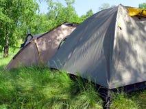 шатры наклона холма Стоковые Изображения RF
