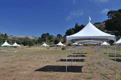 шатры поля Стоковое фото RF
