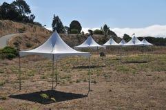 шатры поля Стоковые Изображения RF