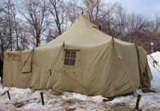 шатры экспедиции армии стоковые фотографии rf