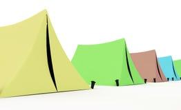 шатры иллюстрация штока