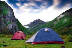 шатры 2 Стоковые Фотографии RF