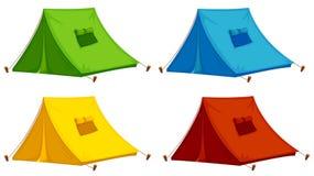 шатры иллюстрация вектора